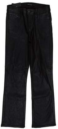 J Brand Selena Mid-Rise Straight-Leg Cropped Jeans w/ Tags
