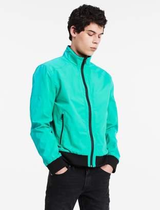 Calvin Klein nylon bomber jacket