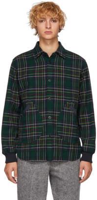Comme des Garcons Homme Green Tartan Shirt