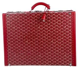 Goyard Goyardine Trunk Briefcase