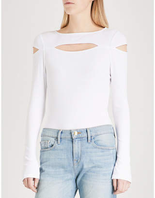 KENDALL + KYLIE KENDALL & KYLIE Cutout-detail stretch-jersey body