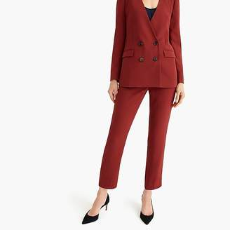 J.Crew Tall French girl slim crop pant in 365 crepe