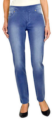 Haggar Petite Dream Pull-On Jeans