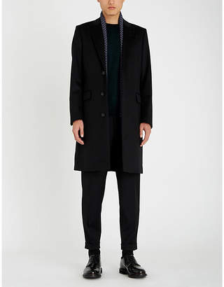 Tiger of Sweden Tailored wool-blend overcoat