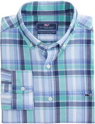 Vineyard Vines Boathouse Plaid Slim Tucker Shirt