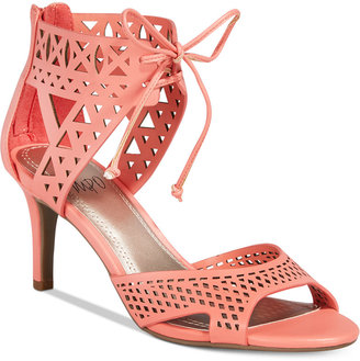 Impo Viddette Lace-Up Dress Sandals $65 thestylecure.com