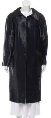 Oscar de la Renta 2009 Iridescent Coat