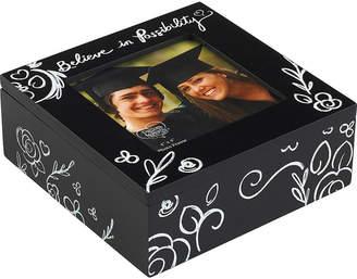 Precious Moments Believe In Possibility Graduation 4x4 Photo Frame Keepsake Box 183436