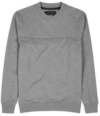 Blood Brother Luck Grey Stretch-cotton Sweatshirt