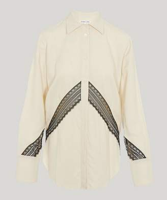 Helmut Lang Lace-Detail Shirt