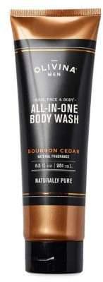 Olivina Bourbon Cedar All-in-One Body Wash