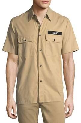 Rag & Bone Men's Standard Issue Mechanic Casual Button-Down Shirt