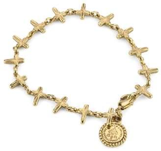 LIBRARY The Vatican Collection -Tone Petite Crosses Bracelet