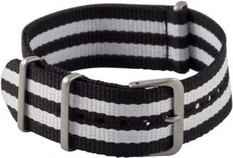 Hadley-Roma MS4230RT 180 18mm Nylon Black Watch Strap