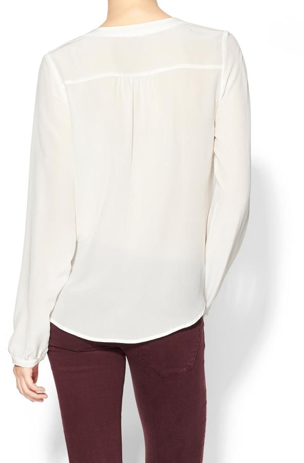 Juicy Couture Tinley Road Silk Popover