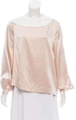 A.L.C. Silk Long Sleeve Blouse w/ Tags