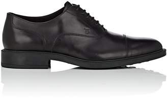Tod's Men's Cap-Toe Leather Balmorals