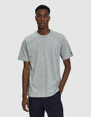 Carhartt Wip S/S Base T-Shirt in Grey Heather/Black