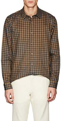 Theory Men's Checked Brushed Cotton Shirt