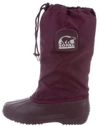 Sorel Round-Toe Snow Boots