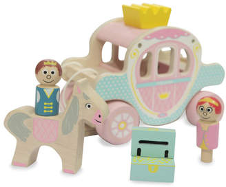 Jammtoys wooden toys Wooden Princess Carriage