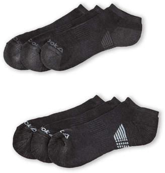 Reebok 6-Pack Performance Low Cut Socks
