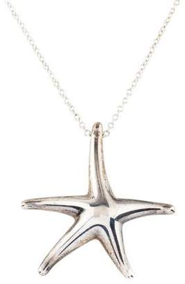 Tiffany & Co. Starfish Pendant Necklace