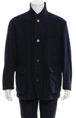Loro Piana Virgin Wool Car Coat