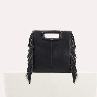 Free Standard Shipping At Maje M Bag With Leather Fringes