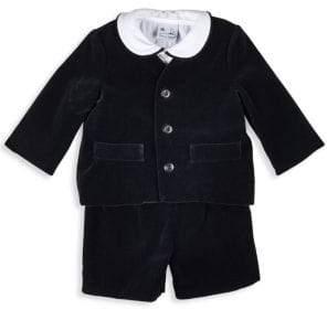 Florence Eiseman Baby Boy's Three-Piece Velvet Eton Suit