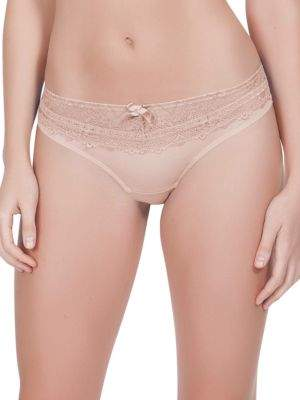 Parfait Casey Solid Lace Thongs