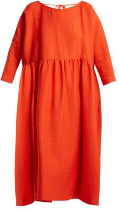 Rachel Comey Oust Cotton Blend Dress - Womens - Red