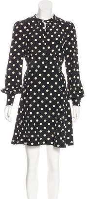 Marc Jacobs Silk Polka Dot Dress