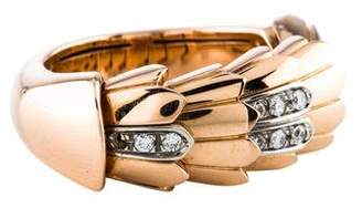 Roberto Coin 18K Diamond Animalier Ring