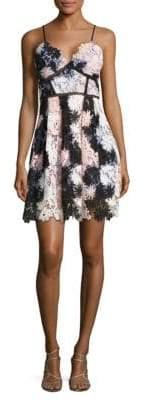 Romeo & Juliet Couture Floral-Lace Dress