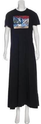 Rosie Assoulin Short Sleeve Maxi Dress Black Short Sleeve Maxi Dress