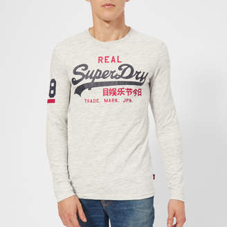 Superdry Men's Vintage Logo Duo Long Sleeve T-Shirt