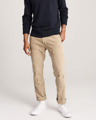 Abercrombie & Fitch Straight Carpenter Jeans