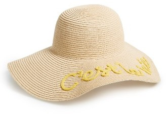 Women's Bp. C'Est La Vie Floppy Straw Hat - Beige $28 thestylecure.com