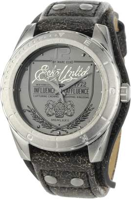 Ecko Unlimited Men's E11518G1 The Daily Leather Cuff Watch
