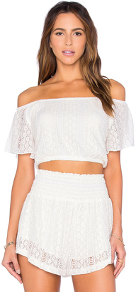 LSPACE Summer Of Love Crop Top $99 thestylecure.com