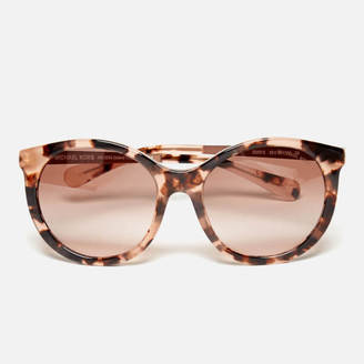MICHAEL Michael Kors Women's Island Tropics Sunglasses Pink Tortoise