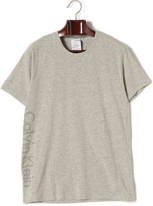 Calvin Klein (カルバン クライン) - Calvin Klein ネームデザイン クルーネック 半袖Tシャツ グレー s