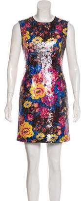 Diane von Furstenberg Sequined Floral Dress