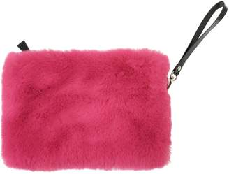 NOOKI DESIGN - Faux Fur Clutch Fuscia