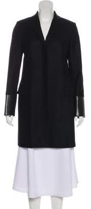 Hache Wool Knee-Length Coat