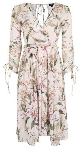 Women's Topshop Lily Floral Mesh Dress 5