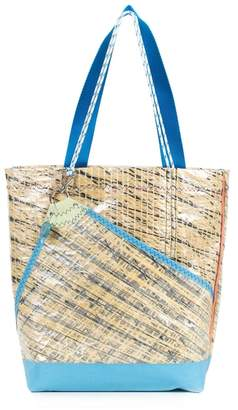huner - Tote Bag 0063 With Blue Bottom