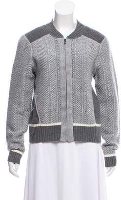 Duffy Wool Zip-Up Cardigan w/ Tags