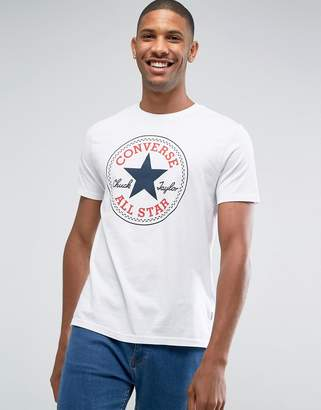 Converse Chuck Patch T-Shirt In White 10002848-A02